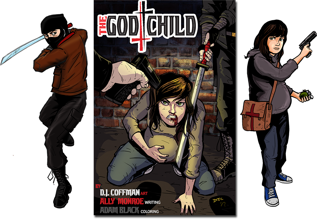 Read The God Child now at Keenspot...